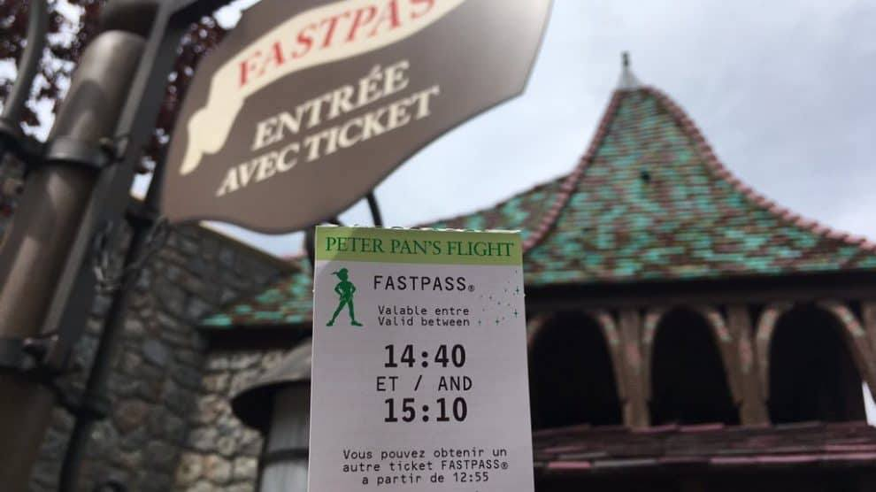 Peter Pan's Flight Fastpass